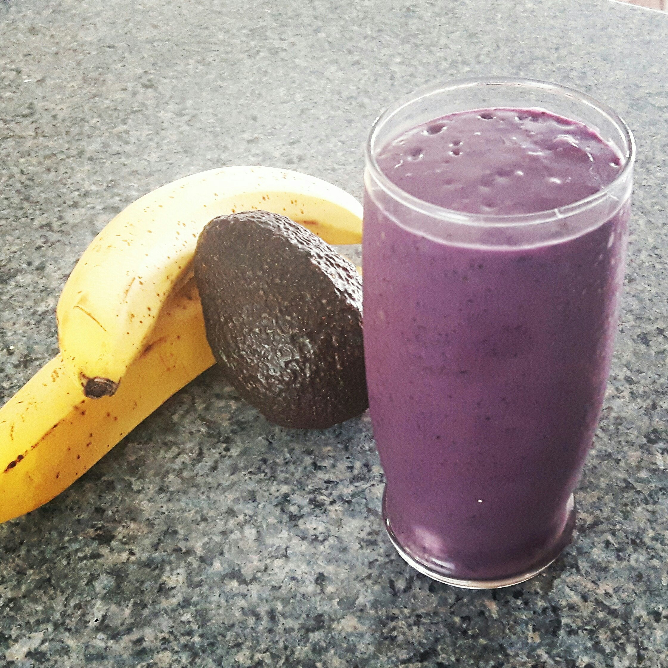 Work out smoothie recipe