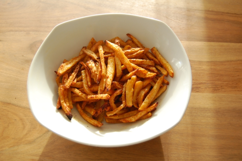 Healthier french fries recipe