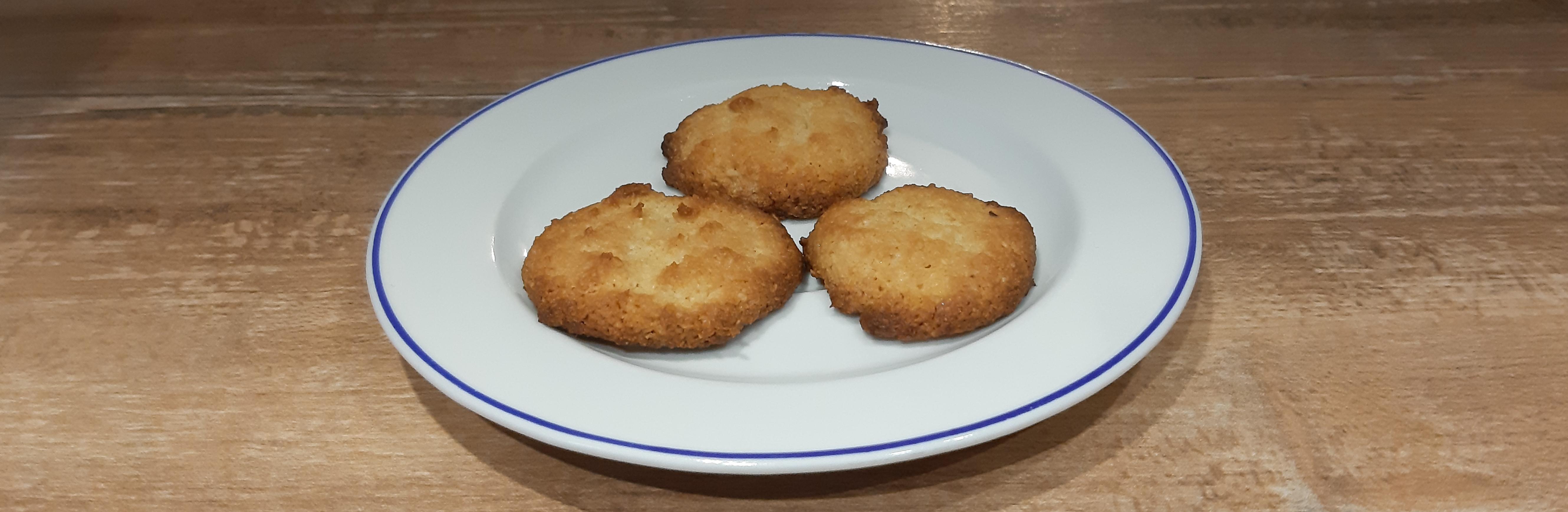 Low carb christmas cookies: Lemon bites recipe
