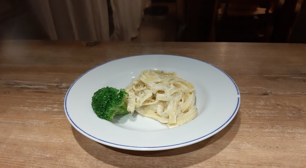 Recipe for Fettucini Alfredo