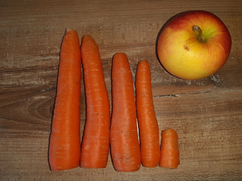 carrot cake recipe - carrots