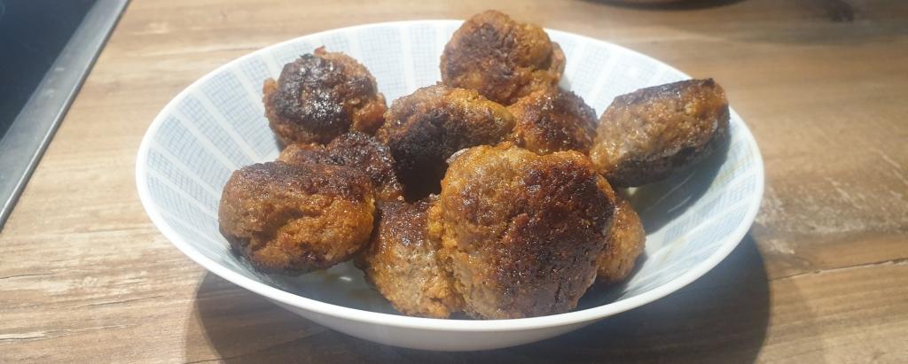 German style meat balls