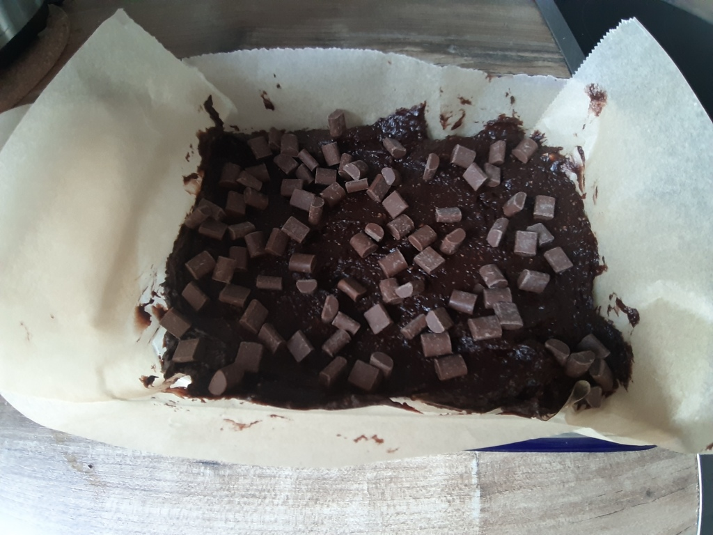 sweet potato brownie recipe