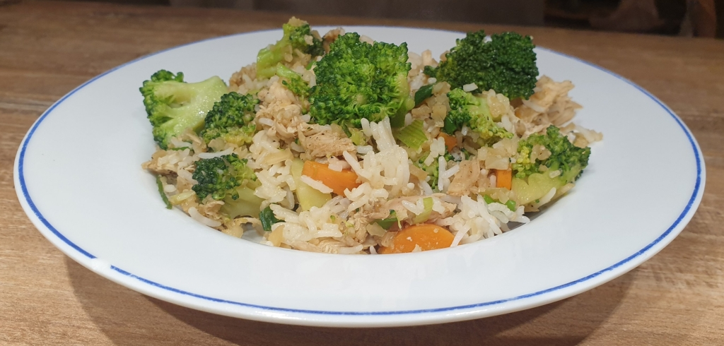 low carb Thai Khao pad recipe